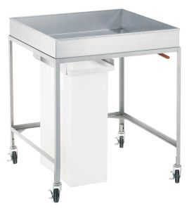 Cooling Cart with Removable Bin