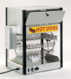 Hot Dog Broiler and Bun Warmer